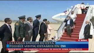 Presidente Donald Trump visitará Colombia en abril. | City Tv