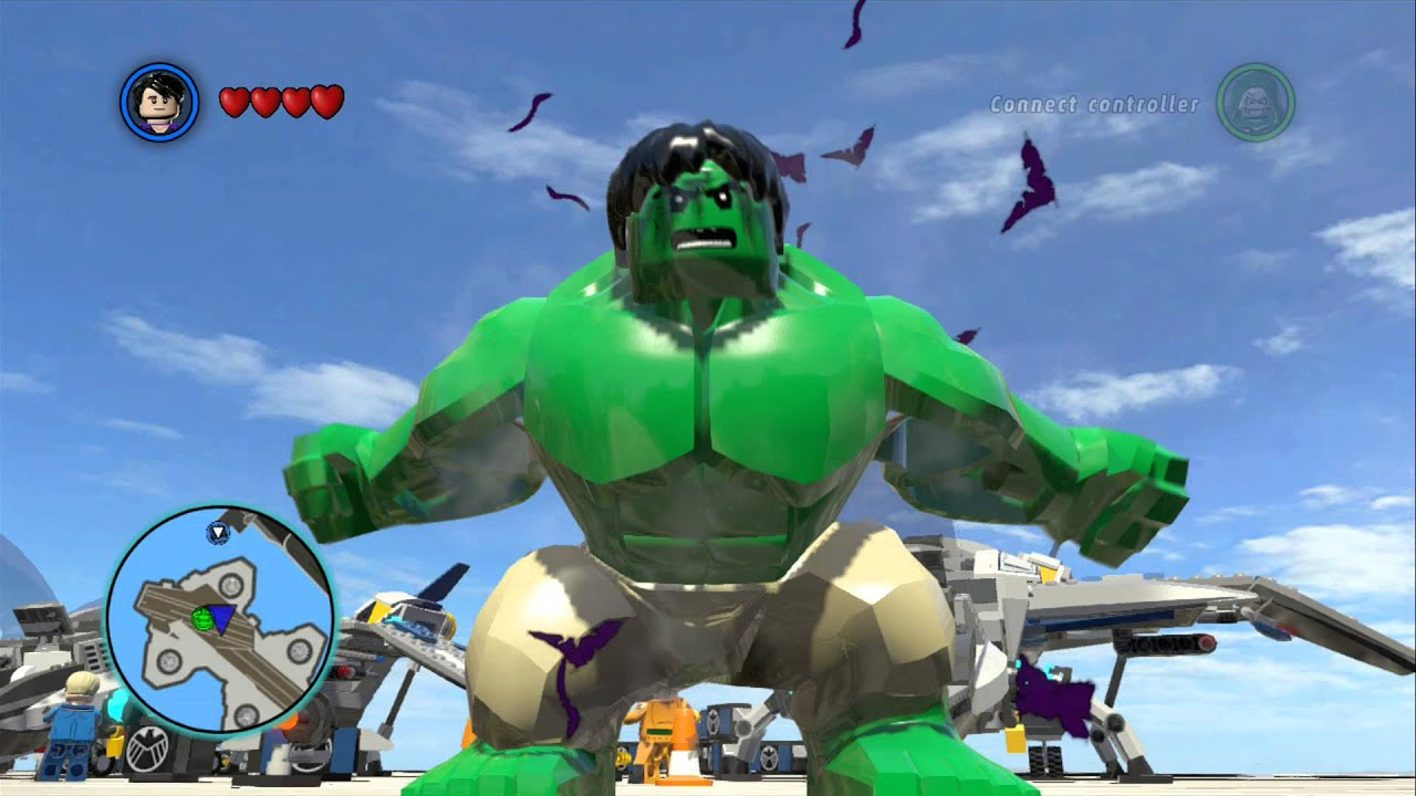 LEGO Marvel Super Heroes - I'm Always Angry! Achievement ...