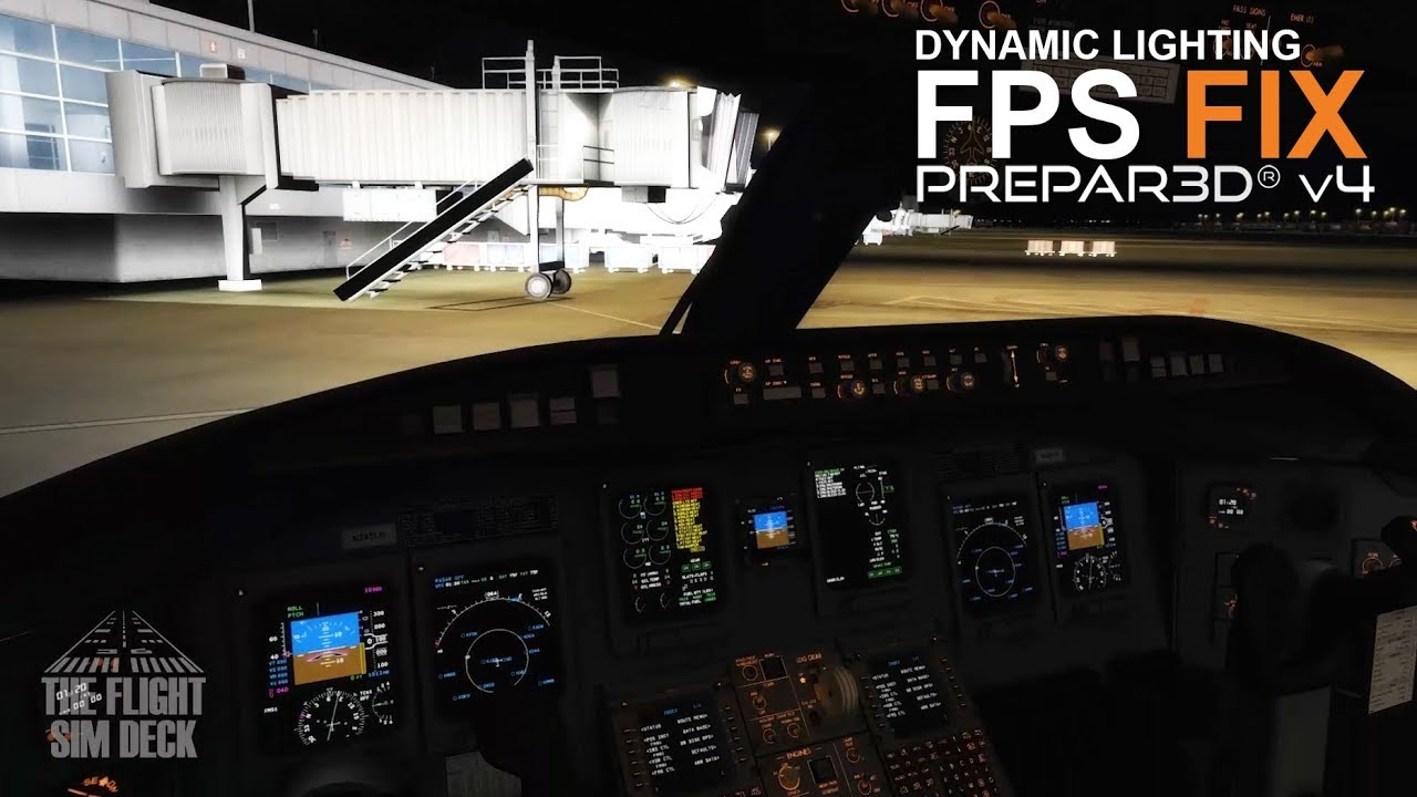 Prepar3D v4 | Dynamic Lighting FPS Fix