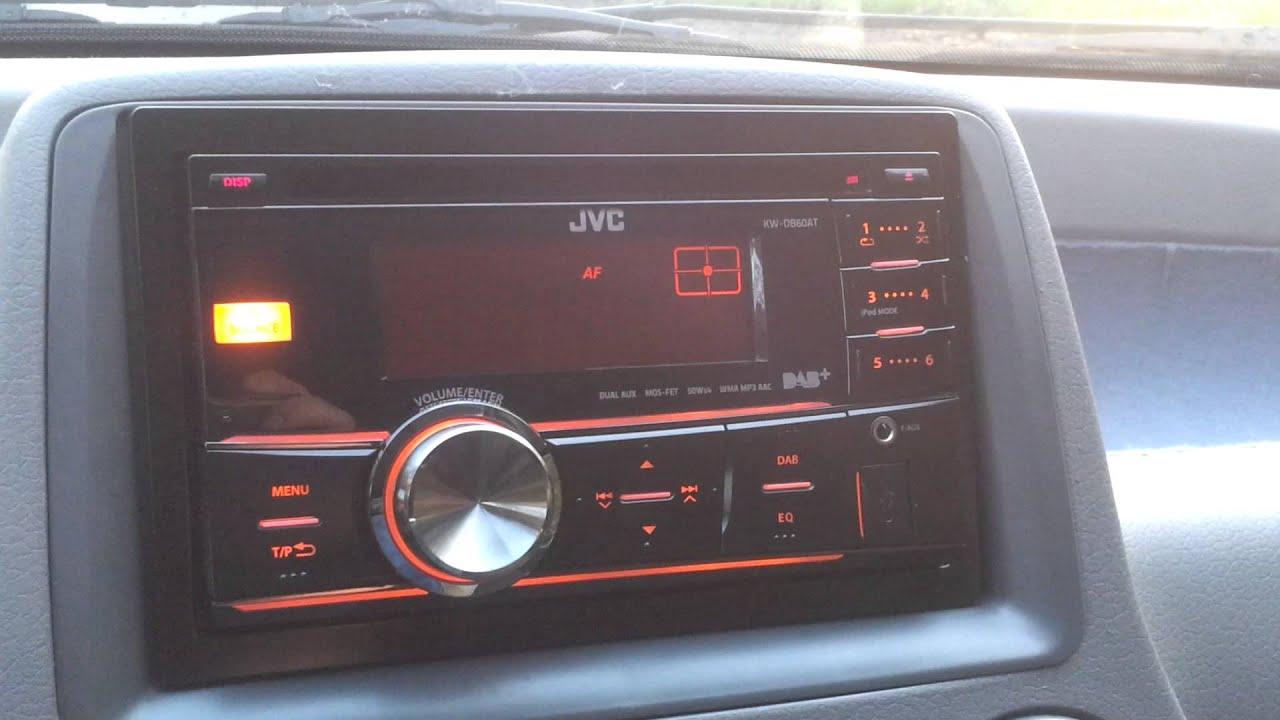 Jvc Kw Db60at Dab Dab Digitalradio Autoradio Doppel Din