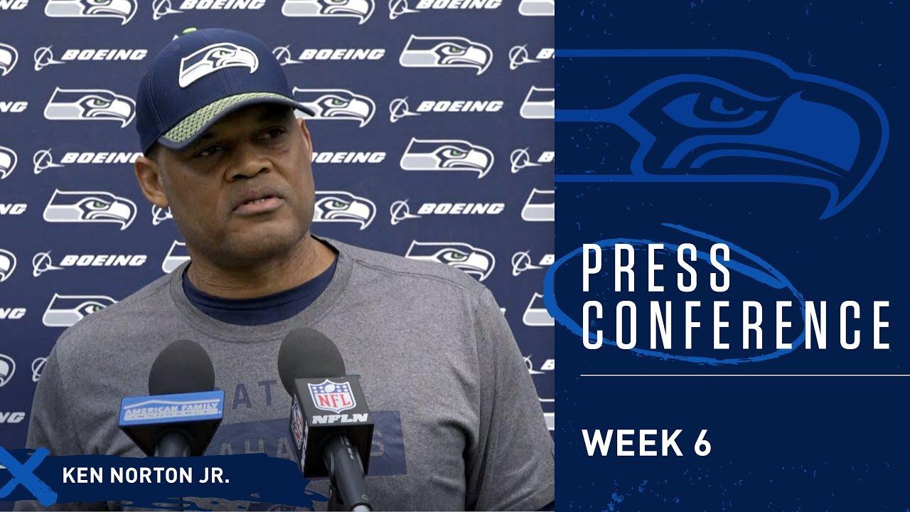 Seahawks Defensive Coordinator Ken Norton Jr. Week 6 Press Conference