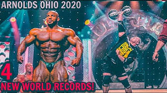 Arnold Strongman Classic 2020 | Day 2 | 770LBS/350KG Bench Press World Record Ft Julius Maddox
