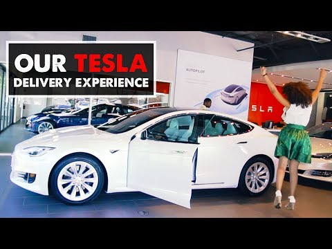 TESLA MODEL S DELIVERY | My New Car!