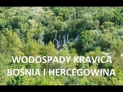 Wodospady Kravica - taras widokowy przy parkingu - BOŚNIA I HERCEGOWINA