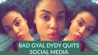 BAD GYAL DYDY QUITS SOCIAL MEDIA | PINEAPPLE FI DI PUM PUM | ONLY1 EMPO