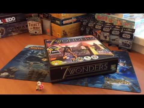 Настольная игра 7 Чудес. 7 Wonders Boardgame