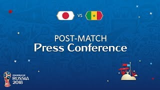 FIFA World Cup™ 2018: Japan v. Senegal - Post-Match Press Conference