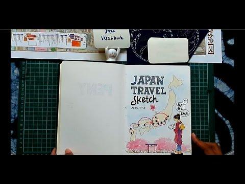 Peny - Japan Travel Sketchbook 2016