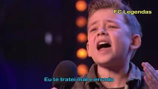 Calum Courtney - Sensação de 10 anos - Britain's Got Talent 2018 - [Legendado - PT/BR]