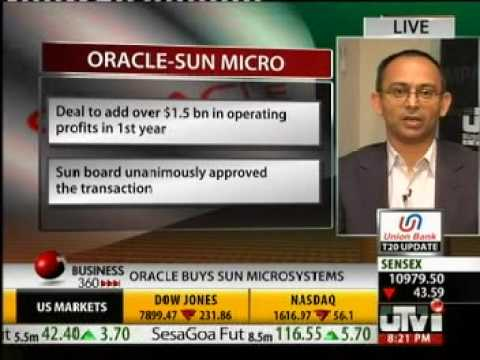 Oracle acquires Sun Microsystems (Anand Lavi, Tholons speaks about the impact of the deal)