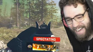 SPECTATING the MOST TACTICAL WARZONE SOLOS player
