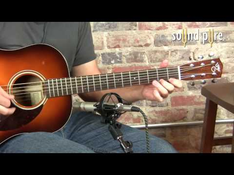 Santa Cruz Guitars VS Custom Koa Acoustic Guitar Demo at Sound Pure