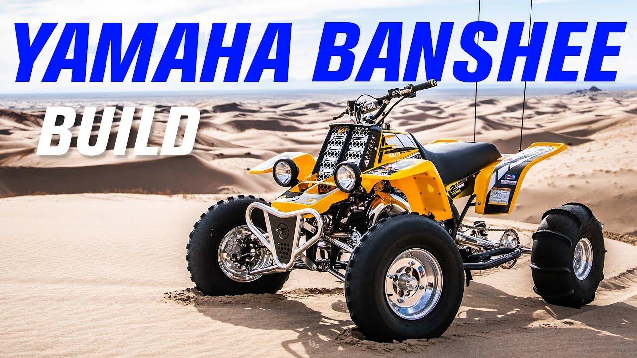 Yamaha Banshee ATV Build