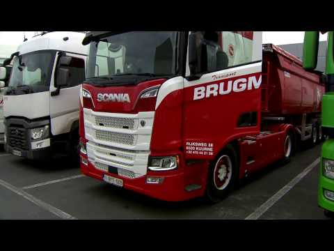TRANSPORT.TV 34: Eerste gebruiker van Scania R  is Brugman Transport