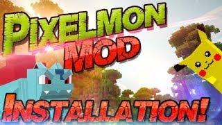 ༺ Minecraft 1.10.2 Pixelmon Mod Tutorial ༻ 172 Pokemon in Minecraft! Windows + Mac | German Deutsch