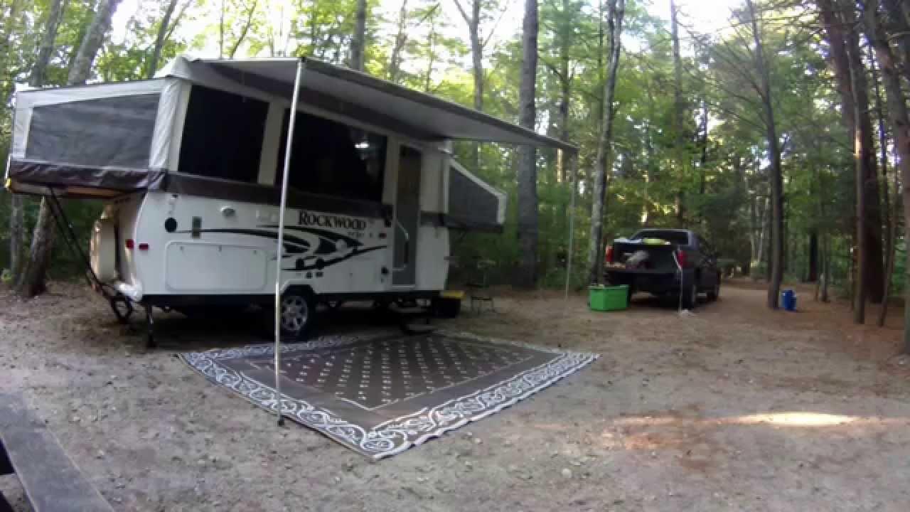 My Rockwood Hw277 Popup Camper September 2014 Youtube