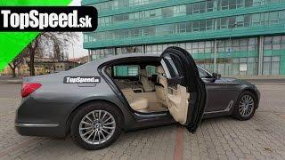 Test BMW 750Li G12 I. časť TopSpeed.sk