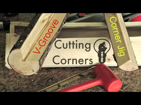 How to Make a Table Saw Jig for Corner Notching a Log