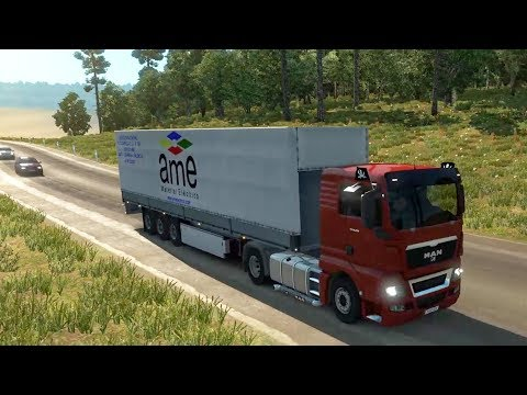 ETS2 DIA 8 | Barcelona - Madrid Por Carretera Segundaria | JMGamer