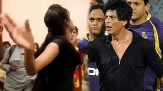 Shahrukh Khan gets SLAPPED by a woman in PUBLIC | Fan Trailer Launch