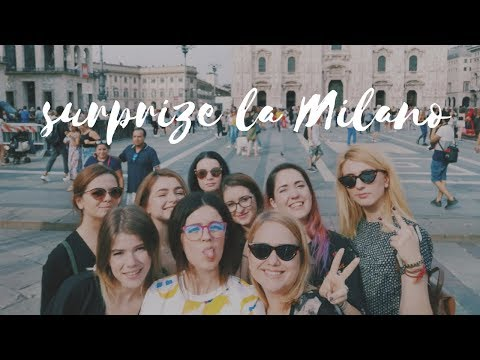 Surprize la Milano | Bachelorette Party