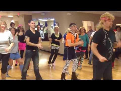 80s Rock Line Dance