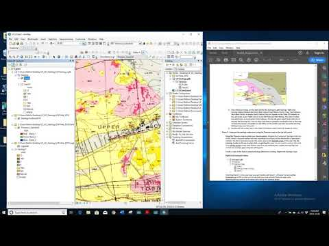 Creating A Geological Map In ArcGIS