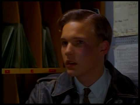 "Tuesday Knight and Brad Renfro in ""Telling Lies In America"""