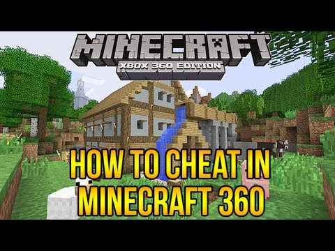 Minecraft Xbox 360: How To Cheat in Minecraft