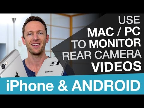 Film With iPhone and Android Rear Camera and Use Mac or PC as a Viewfinder!