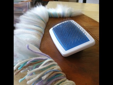 How to Make Yarn into Fur