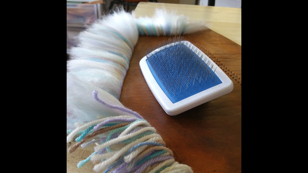 How To Make Yarn Into Fur Youtube