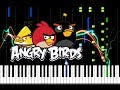 Angry Birds EASY Piano Tutorial (+ Piano Sheets)