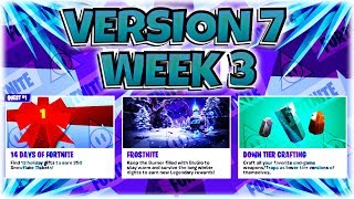 Weekly Loot Reset ~ V7 W3 [Secret Collection Book Update] - FORTNITE StW   PvE