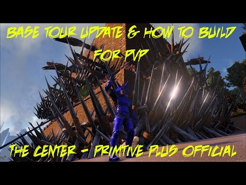 Primitive Plus Official - The Center Map - How To/Not To Build for PVP - S4E17