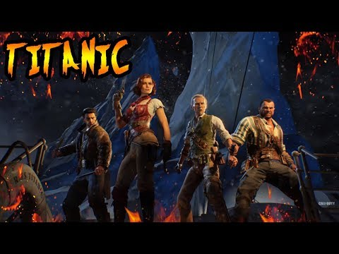 VOYAGE OF DESPAIR STORYLINE! THE TITANIC In Zombies! Black Ops 4 Zombies Storyline & Easter Eggs