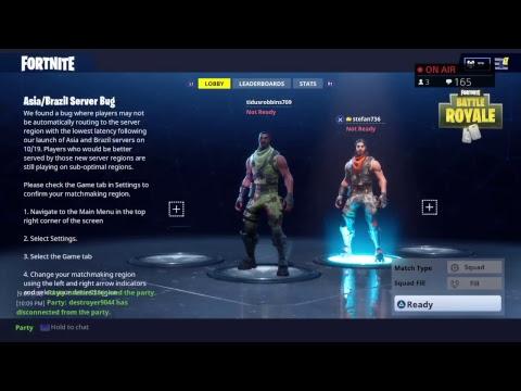 Fortnite Battle Royale with Ryan Hamilton and stefan voyez