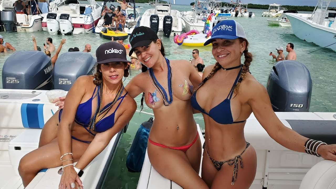 Miami Beach Sandbar Boat Regatta 2019