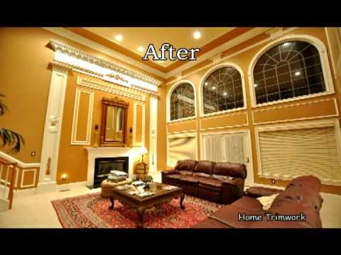Home Trimwork Before Amp After 2011 YouTube