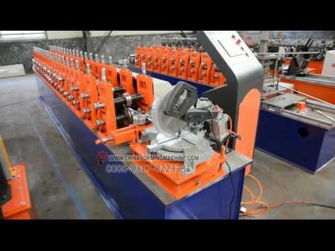 aluminum screen frame roll forming machine