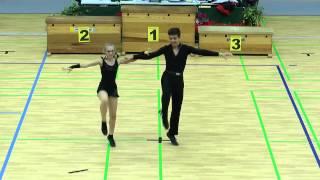 14. Allercup - Schüler - Platz 2 - Katharina H. & Janosch B.