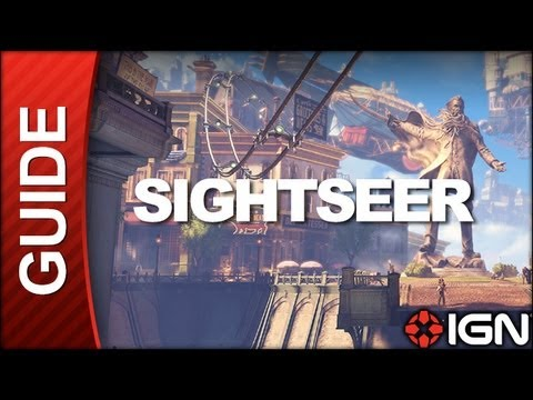BioShock Infinite - Sightseer: Welcome Center / Raffle Square