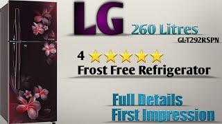LG 260 Litres Double Door Refrigerator 'GL-T292RSPN' Unboxing @ Mehrotra Electronics