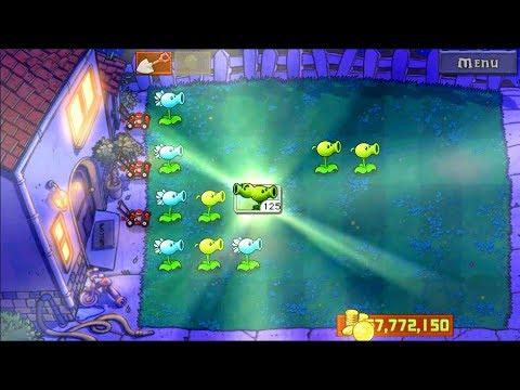 Best strategy Plants vs Zombies Mod | Unlocked Split Pea