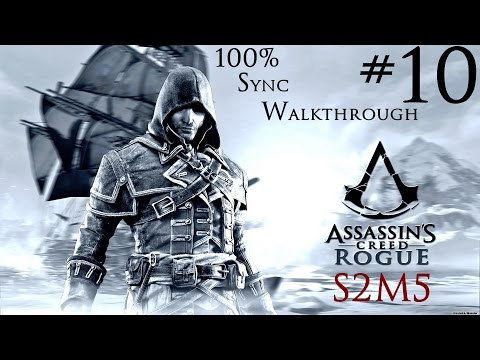 Assassin's Creed Rogue - 100% Sync Walkthrough - Part 10 - Sequence 2 Memory 5