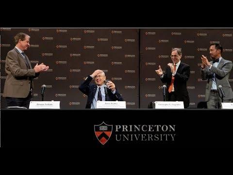 Princeton University's James Peebles, 2019 Nobel Laureate in Physics