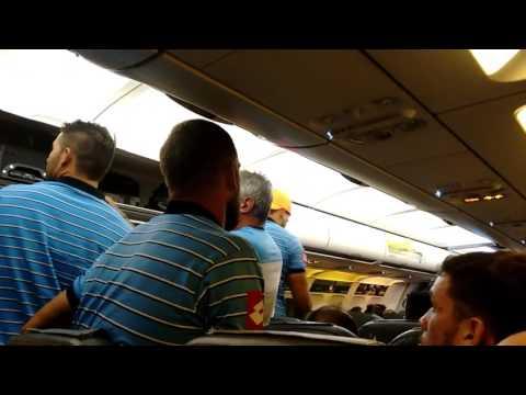 Horas de terror a bordo de un avión vivió todo el plantel de Belgrano