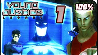 Young Justice: Legacy Walkthrough Part 1 (PS3, X360, PC) 100% Greece Mission 1: Arrival