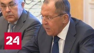 Лавров: Москва будет помогать нормализации обстановки в Ираке