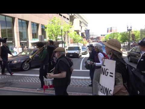 """Billionaires Bash,"" march to Massachusetts State House"